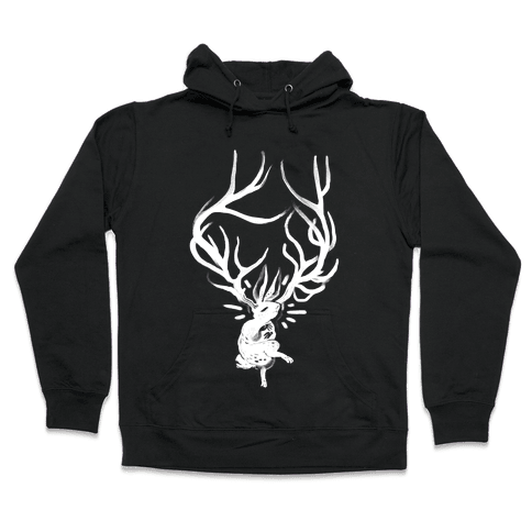 A Jackalope's Lullaby Hooded Sweatshirt