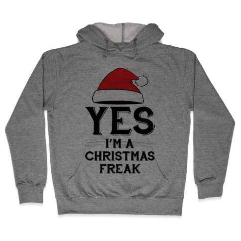 Christmas Freak Hooded Sweatshirt