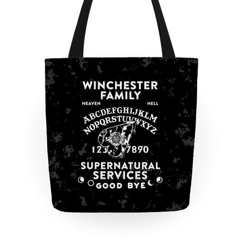 Winchester Family Ouija Board Tote Tote