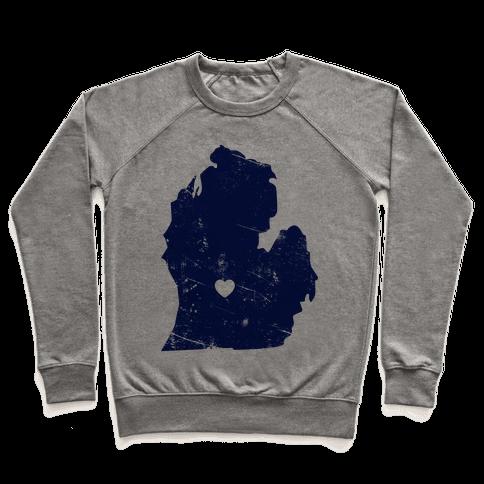 Michigan Heart Pullover