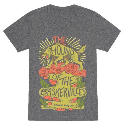 The Hound Of The Baskervilles V-Neck Tee Shirt