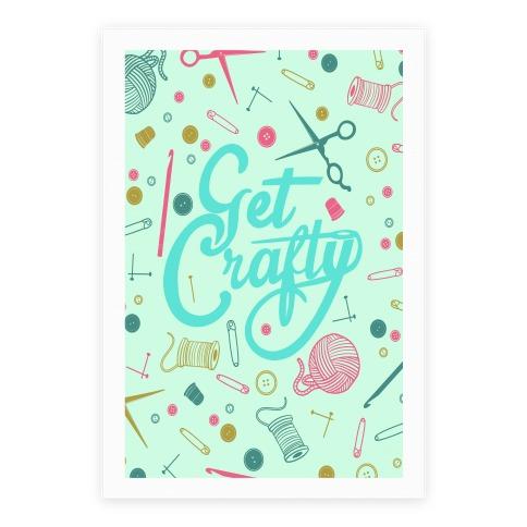Get Crafty Poster