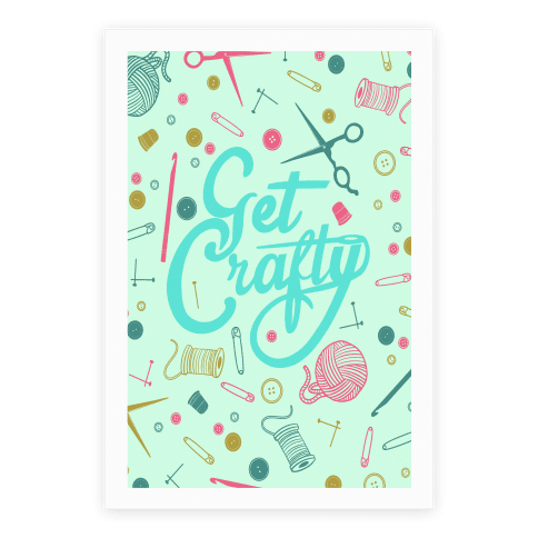 Get Crafty Poster