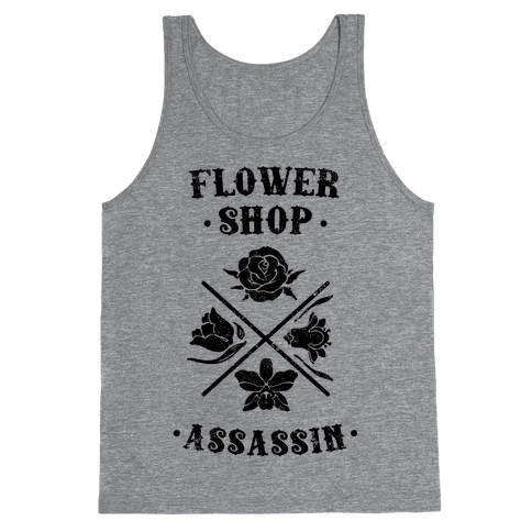 Flower Shop Assassin (Vintage) Tank Top