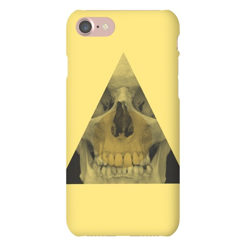 Skull Triangle iPhone Phone Case