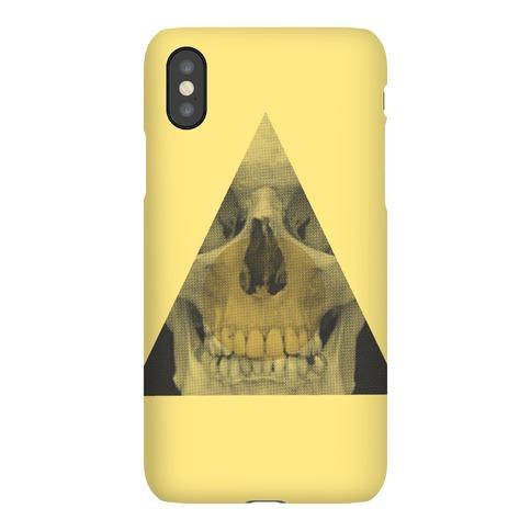 Skull Triangle iPhone Phone Case