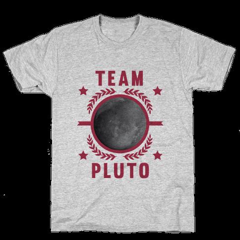 Team Pluto Mens T-Shirt
