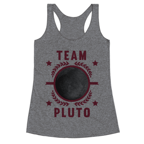 Team Pluto Racerback Tank Top