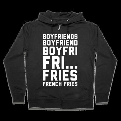 Boyfriends.. Zip Hoodie