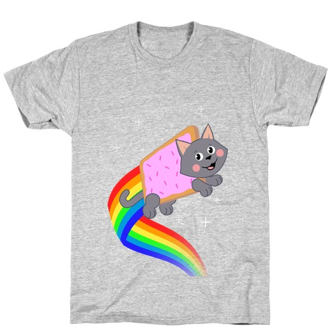 Rainbow Pastry Cat T-Shirt
