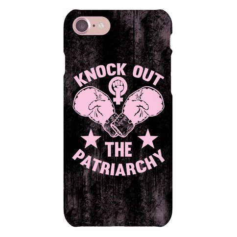 Knock Out The Patriarchy Phone Case