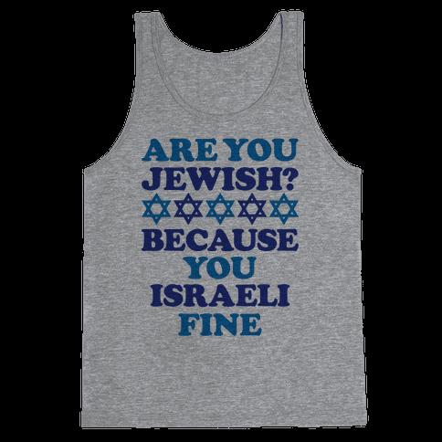 You Israeli Fine Tank Top