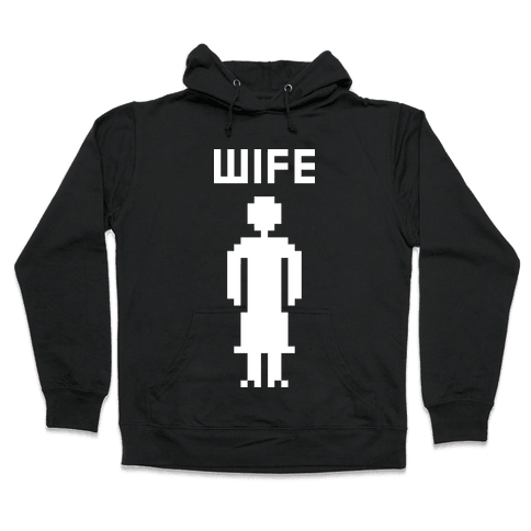 Nerd Wife Hooded Sweatshirt