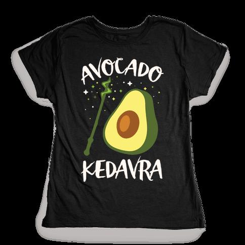 Avocado Kedavra Womens T-Shirt