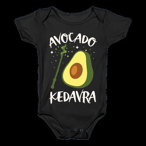 Avocado Kedavra Baby Onesy