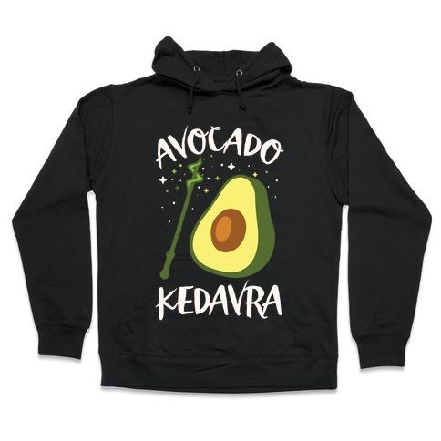 Avocado Kedavra Hooded Sweatshirt