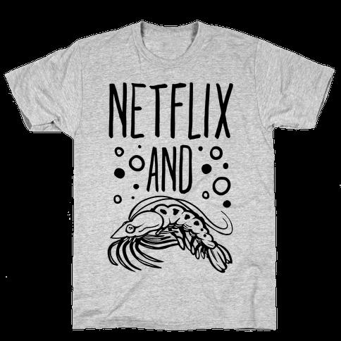 Netflix and Krill Mens T-Shirt