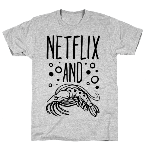 Netflix and Krill Mens T-Shirt