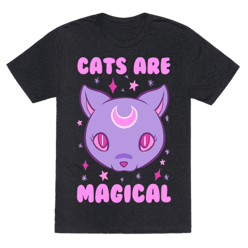 Cats Are Magical Mens T-Shirt