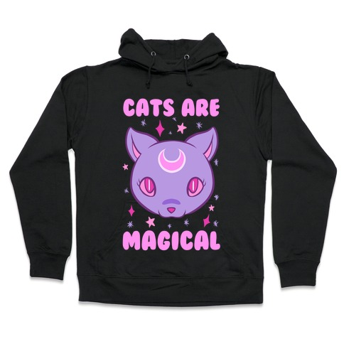 Cats Are Magical Hooded Sweatshirt