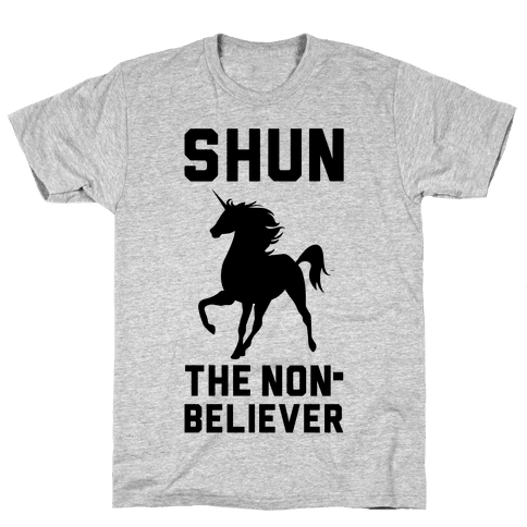 Shun the Nonbeliever Mens T-Shirt