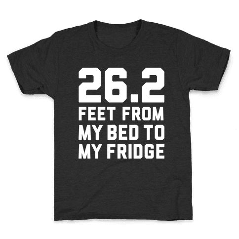 Bed To Fridge Kids T-Shirt
