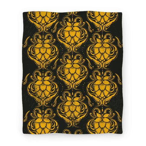 Golden Hops Blanket