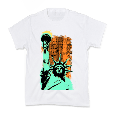 Liberty in the City Kids T-Shirt