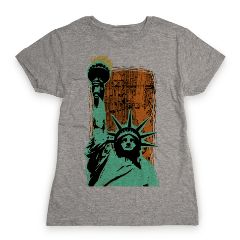 Liberty in the City Womens T-Shirt