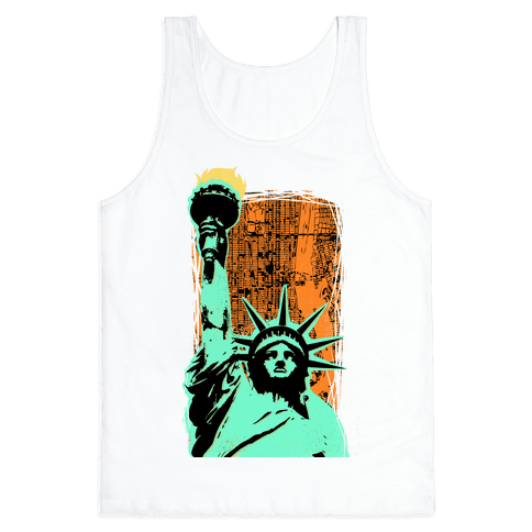 Liberty in the City Tank Top