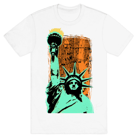 Liberty in the City Mens T-Shirt