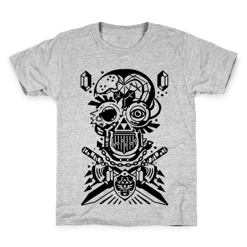 Legend Of Zelda skull Kids T-Shirt