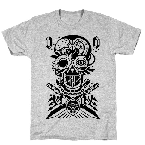 Legend Of Zelda skull T-Shirt