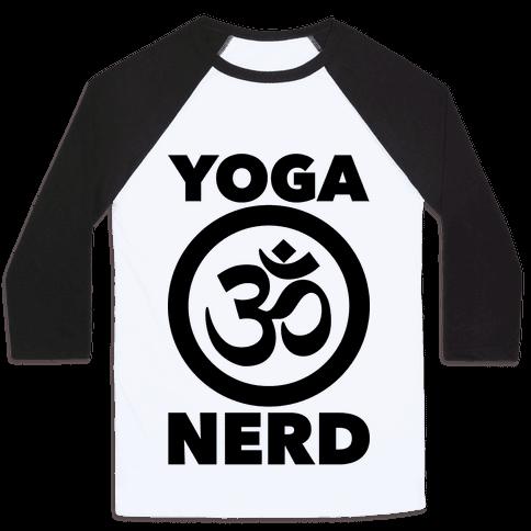Yoga Nerd Baseball Tee