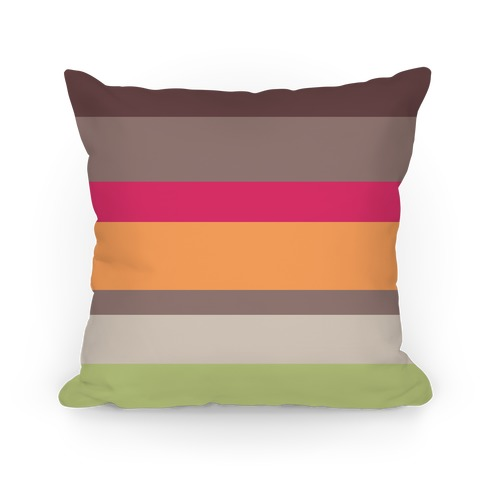 Bright Stripe Pillow Pillow