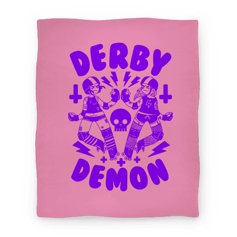 Derby Demon Blanket