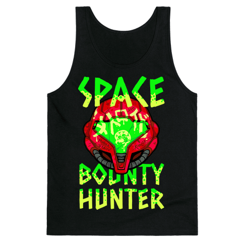 Space Bounty Hunter Tank Top