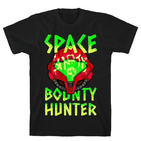 Space Bounty Hunter Mens T-Shirt