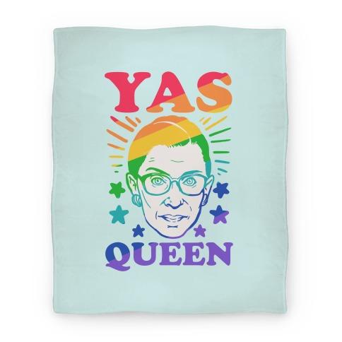 Yas Queen RBG Blanket