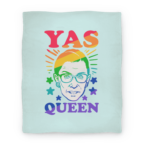 Yas Queen RBG Blanket