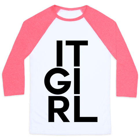 It Girl Baseball Tee