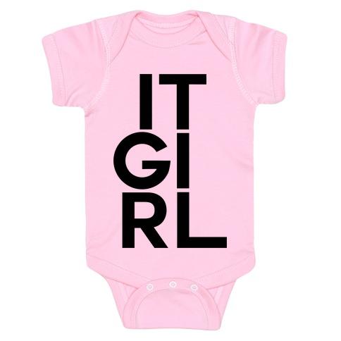 It Girl Baby Onesy