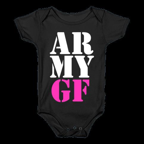 Army GF Baby Onesy