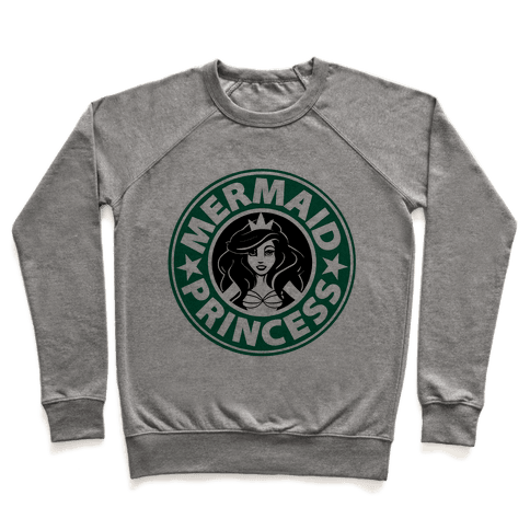 Mermaid Princess Coffee Pullover