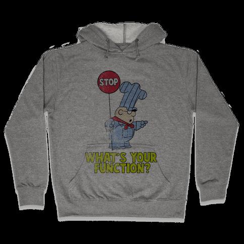 Conjunction Junction (Distressed) Hooded Sweatshirt
