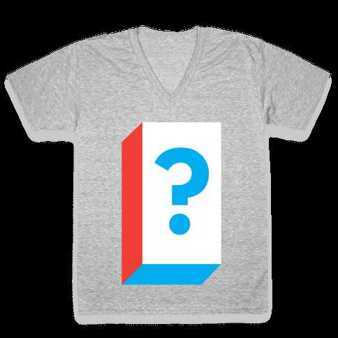 Mystery Box V-Neck Tee Shirt