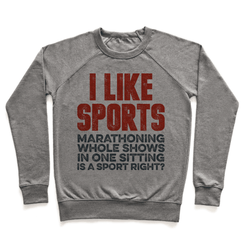 I Like Sports Pullover