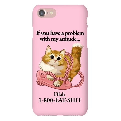 Catitude Phone Case