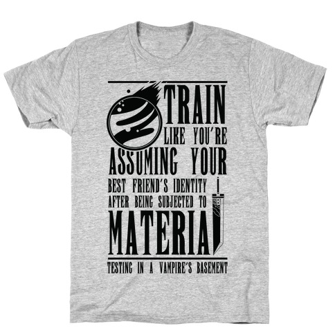 Train Like Cloud T-Shirt