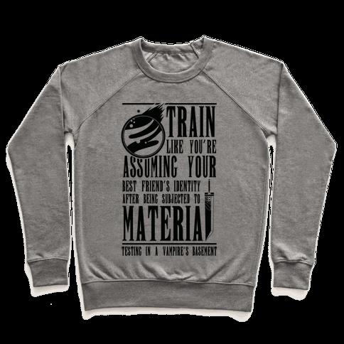 Train Like Cloud Pullover